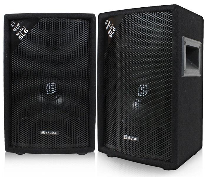 Coppia casse acustiche passive diffusori 500w no amplificate moquette deluxe ebay - Filodiffusione casa wireless ...